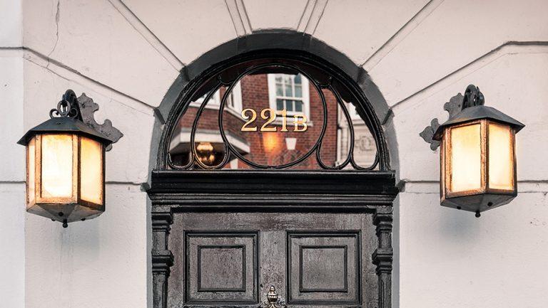 221b Baker Street from Sherlock Holmes