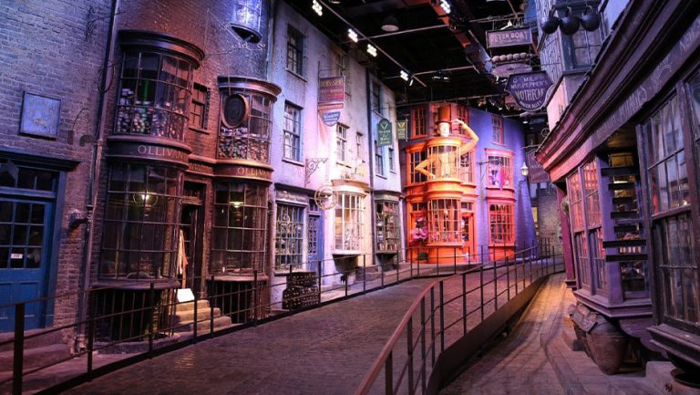 Diagon Alley from Harry Potter