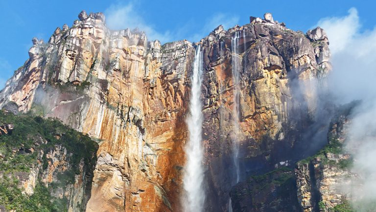 Paradise Falls from Pixar's UP