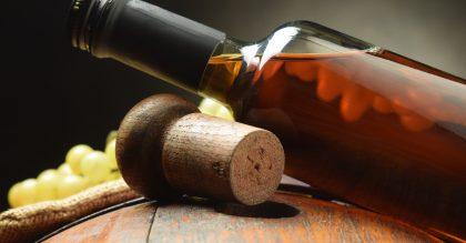 wine bottle and cork