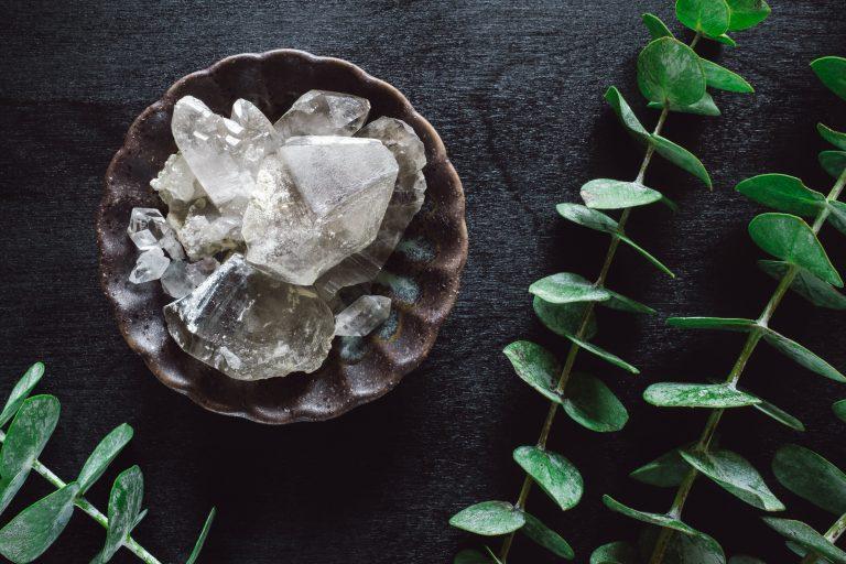 bowl of smoky quartz