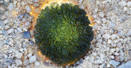 moldavite mineral