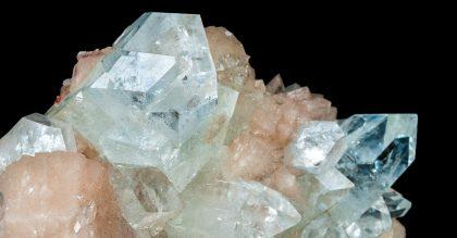 white apophyllite crystal