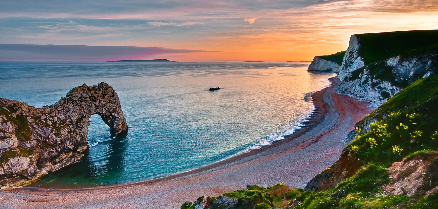 Hiking the jurassic coast for two dorset truly