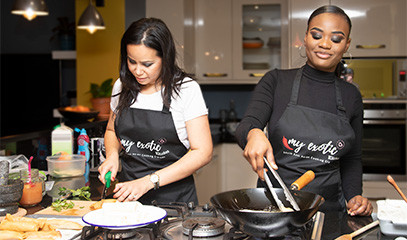 Veg-Asian: Asian Vegan Cooking Class For Two With My Exotic Kitchen