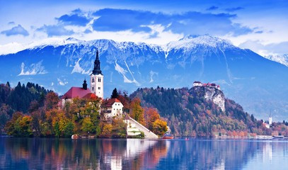 Emerald Waters in Medieval Slovenia: Paragliding and River Adventure at Lake Bled