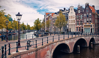 5-Star Romantic Amsterdam Break for Two with Private Gondola Cruise