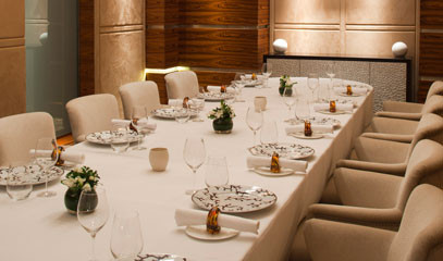 Exclusively Michelin: Private Dining for up to Ten at Alyn Williams at The Westbury