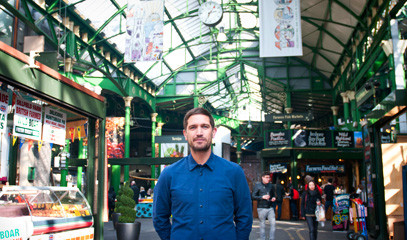 Street Feast: London Markets Tour for up to Six People with British Chef and Presenter, Andy Bates