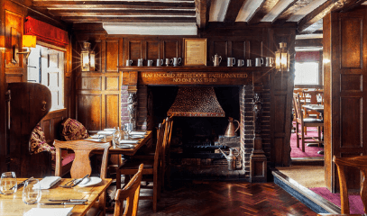 Michelin Town: Overnight Break with Michelin Star Dining For Two In Bray