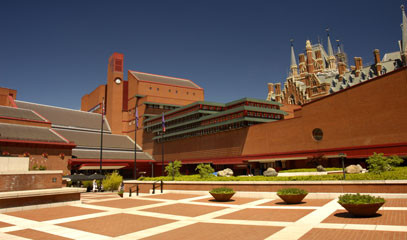 Life of Literature: British Library Tour & Michelin-Starred Lunch for Two