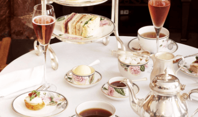 Me Time and Tea Time: Aromatherapy Massage and Champagne Afternoon Tea for Two at Brown's Hotel