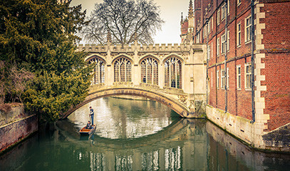 Cambridge Break for Two with Michelin Star Dining & Private City Tour