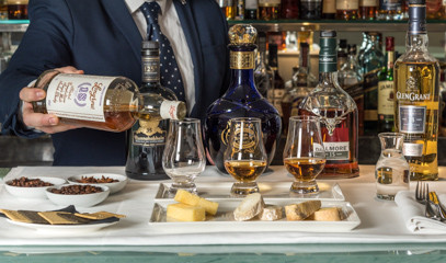 Capital Whisky: Whisky Tasting and Cheese Pairing for Two at the Capital Hotel