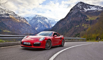 Need For Speed: Drive The Klausen Pass In A Porsche 911 Turbo Cabrio S