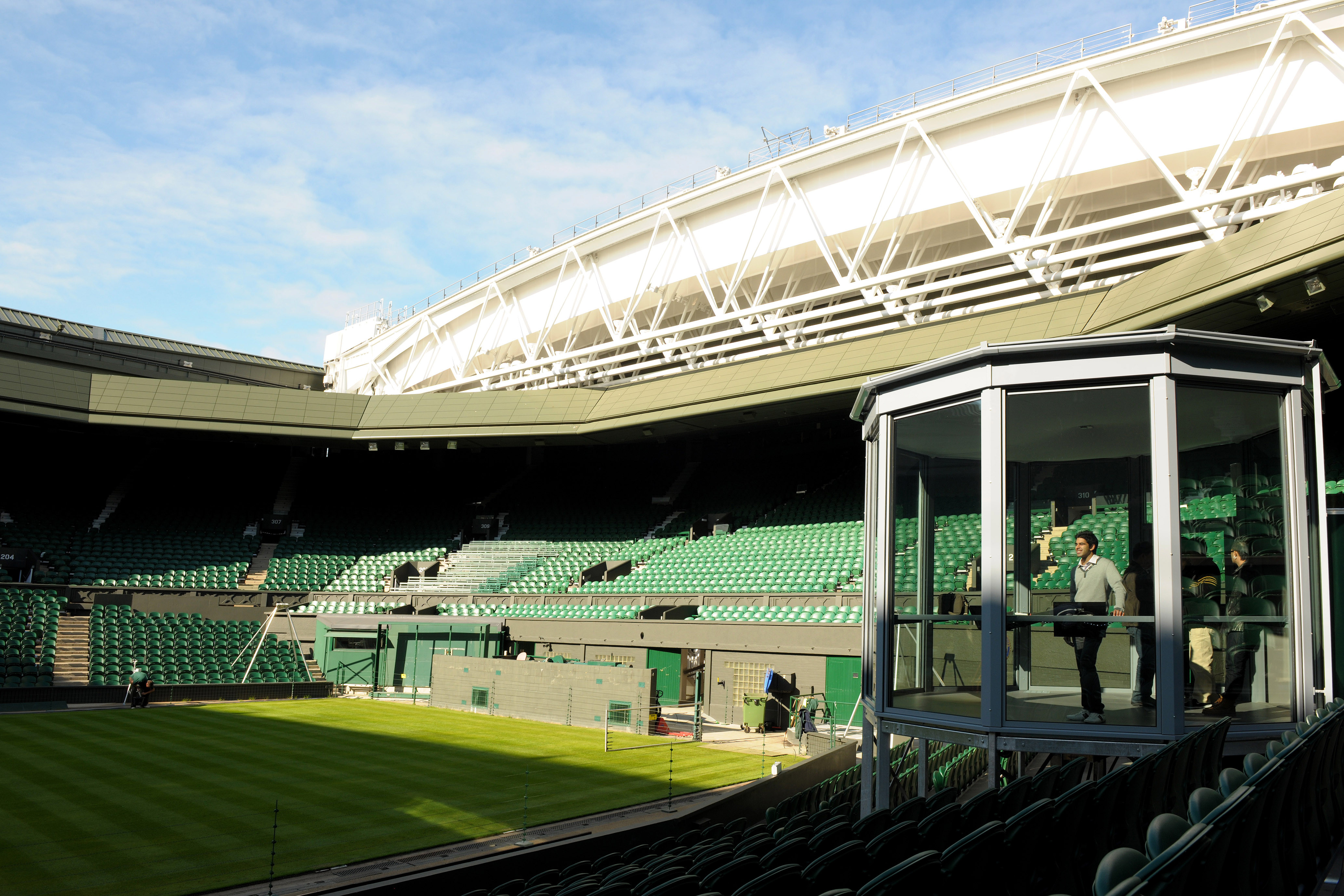 Inside Centre Court: Two-Night London Break With Wimbledon Private Guided Tennis Tour and Dining For Two