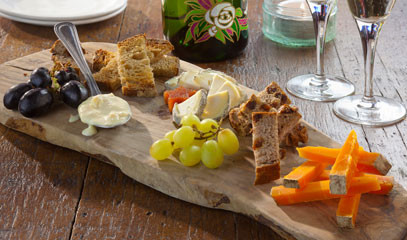 Fromage and Fizz: Cheese Tasting Flight with Champagne for Two at Champagne + Fromage