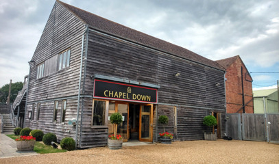 Taste of Kent: Wine Tour and Tasting at Chapel Down with Michelin Star Dining for Two