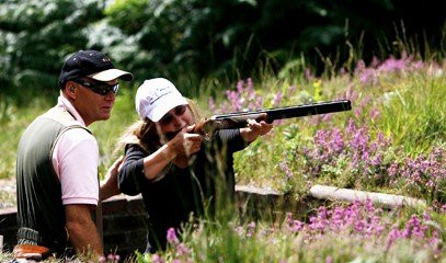 Royal Rounds: Clay Pigeon Shooting Near London for Two at Bisley Shooting Ground