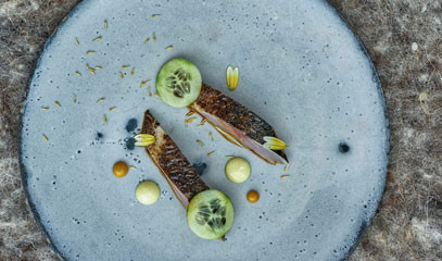 Cutting-Edge British Cuisine: Full Tasting Menu for Two at Michelin-starred The Clove Club