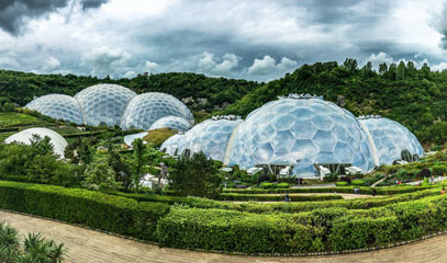 Beyond the Biome: Two-Night Spa Break with Eden Project Guided Tour for Two
