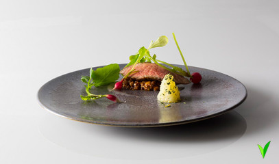 Game Changing Gastronomy: Seven Course Tasting Menu for Two at Michelin-Starred Dabbous