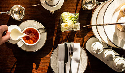 Travel in a Teacup: Classic Afternoon Tea For Two People At The Hyde Restaurant & Bar