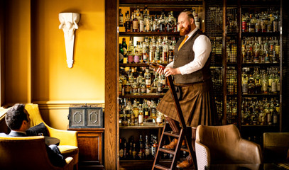 Iconic Drams: 'Journey Around Scotland' Whisky Tasting for Two at SCOTCH at The Balmoral Hotel