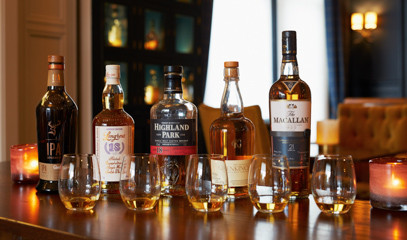 Scotch & Stilton: Single Malt Whisky & Cheese Pairing For Two at Ba' Bar at The Dunstane Houses