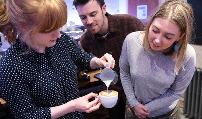 Master The Foam: Latte Art Masterclass For One At Union Brew Lab