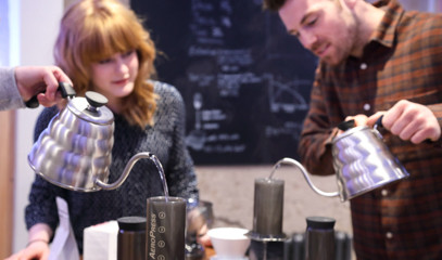 Home Brew: Coffee Brewing Masterclass For Two At Union Brew Lab