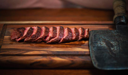 Grass-fed Greatness: Group Feasting Menu for Eight at Flat Iron