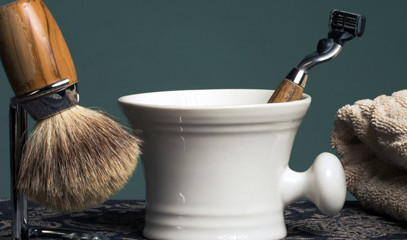 Men's Day Out: Traditional Wet Shave, Haircut & Whisky Tasting for Two