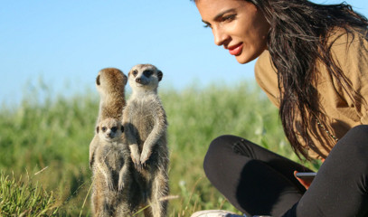 Authentic Africa: Under The African Sky Safari With Meerkat Interaction For Two