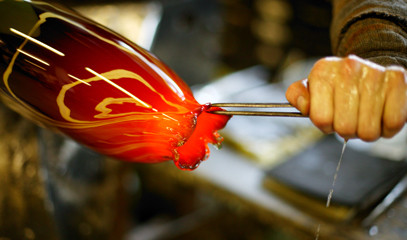 Be Blown Away: Private Group Masterclass at London Glassblowing for up to 10 People