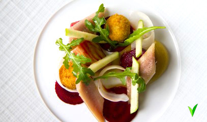 Kew the Applause: Three-Course Michelin Star Dinner for Two at The Glasshouse