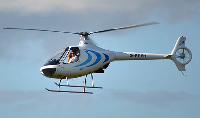 Bright Blue Yonder: Helicopter Lesson for One in a Cabri G2 40 at Elstree Helicopters