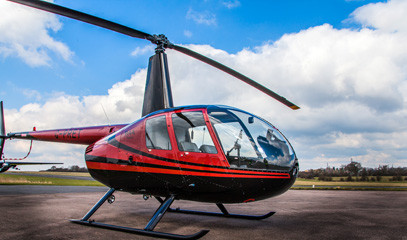 Take Flight: Helicopter Lesson for Two in a Robinson R44 with Elstree Helicopters