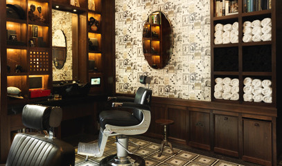Razor Sharp: Traditional Haircut & Wet Shave at The Barber at Alfred Dunhill