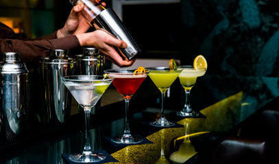 Cocktails in Kensington: Private Cocktail Masterclass for Two at Hotel Xenia, Autograph Collection