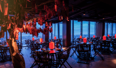 Oriental Charm: Signature Dinner Menu for Two at Hutong at The Shard
