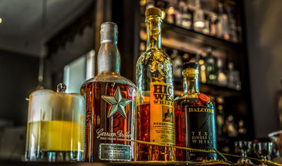 Aristocratic American: Bourbon and Rye Whiskey Tasting with Cocktails and Canapés for Two at The Hyde Bar