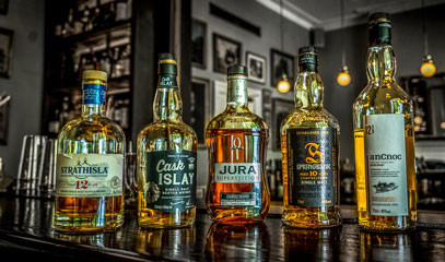 Scotland's Finest: Scotch Whisky Tasting with Cocktails and Canapés for Two at Hyde Bar