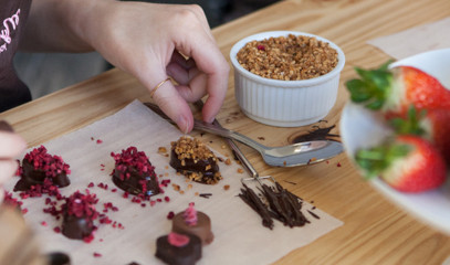 Molten Magic: The Original Chocolate Making Workshop for Two at MyChocolate