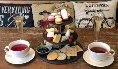 Sweet Sensations: Sweet Champagne Afternoon Tea for Two at Champagne + Fromage Covent Garden