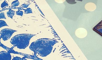 All About The Monet: Private Family Printmaking For Four At Lavender Print School