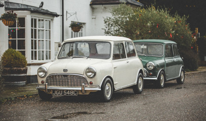 Mini Mania: One Day Vintage Mini Car Hire For Two In Surrey Hills