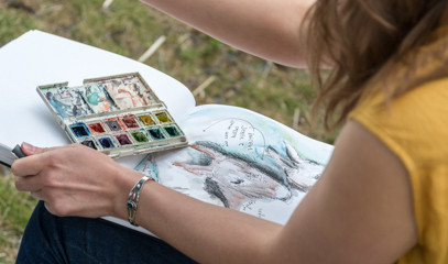Fur, Feathers And Fun: Family Wild Life Drawing Masterclass With Jennie Webber