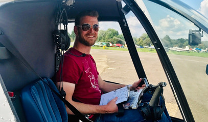 Flying Solo: 25 Hour* Helicopter Training With Elstree Helicopters