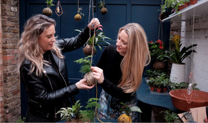 No Drama Kokedama: Create Your Own Japanese Garden Experience For One With Kas & Ros